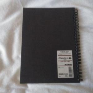 これは無印良品が便利だな、と思うモノ。無地のノート。