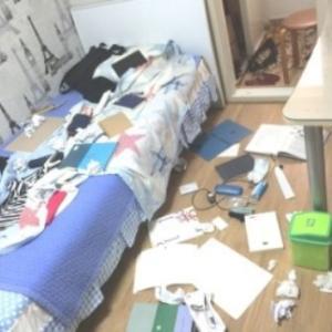 部屋の乱れはココロの乱れ。