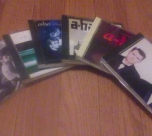 CDの見直し。CDはなかなか捨てられない。