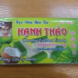 """ベトナムのキャンディを買った。""""パンダン""""の存在を初めて知ったよ。"""