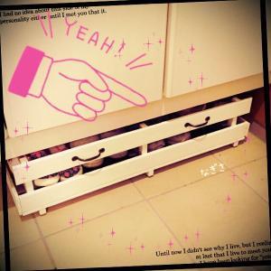 ★DIY★スノコで下駄箱下収納作りました