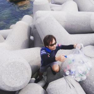 第15回周防大島清掃活動。(瀬戸内海と釣り場を守る友の会)