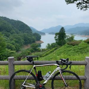 宮ヶ瀬湖×3周