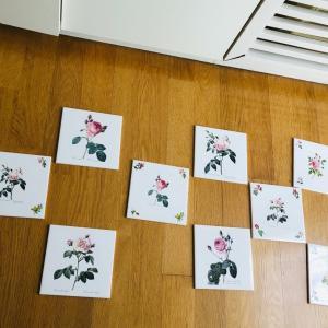 ポーセラーツでキッチンをDIY2♥アンフィニローズ