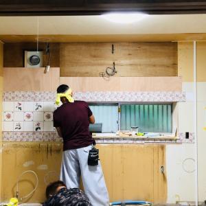 ポーセラーツでキッチンをDIY3♥アンフィニローズ