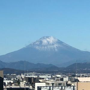 我が家から見えるある日の富士山❤︎アンフィニローズ
