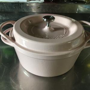 鋳物ホーロー鍋バーミュキュラをリペアした。