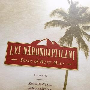 Maui島のMeleを集めた本