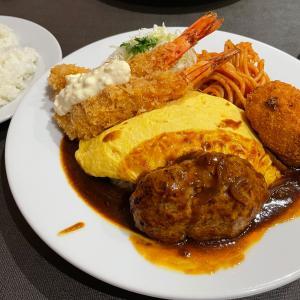 ハワイで日本の洋食屋さん♪