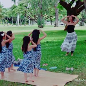 来週は、Keiki Hula Celebration