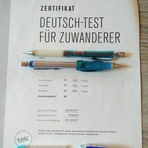 ドイツ語B1テスト合格と新たな弊害