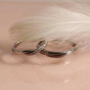 厚みも持たせ年齢を重ねても使っていただけるご結婚指輪 雅 横浜元町店