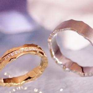 上品で重厚感のある幅広リング・結婚指輪♪雅横浜元町店