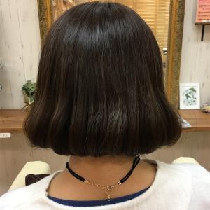 今日も韓国タンバルモリ단발머리にヘアカットさせていただけてとても嬉しい。