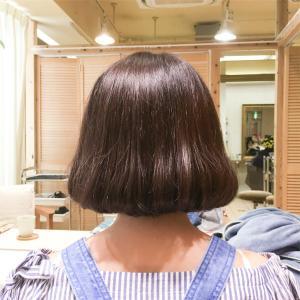 重めの韓国タンバルモリで韓国人の髪型にカット。