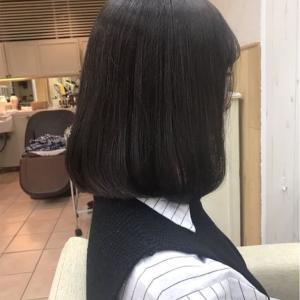 髪型を可愛いイメージの韓国人のタンバルモリにヘアカット。