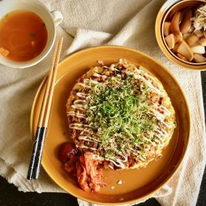 3/1 方向転換とダイエットごはん。【キャベツたっぷりお好み焼き。】