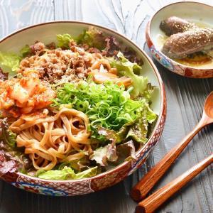 6/20 ダイエットごはん。【岩国蓮根麺でビビン麺。】