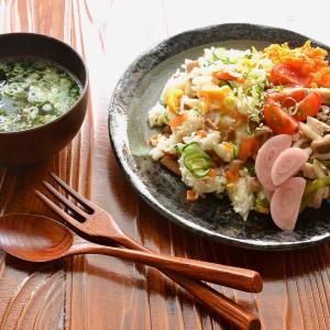 8/12【焼き豚ときゅうりの混ぜ寿司。低コストぱんレシピ。おから蒸しパン。】