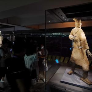 秦兵馬俑がミニプログラムに、手のひらで2千年前の極彩色を再現