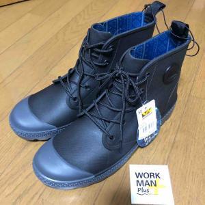【釣り靴】超人気!ワークマン/防水サファリシューズ