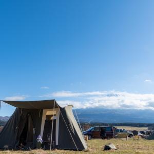 怒涛のキャンプの締め括りにふもとっぱらへ①【ふもとっぱらキャンプ場】(12月28日〜)
