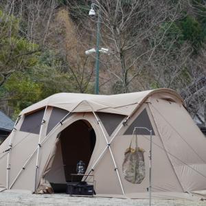 冬キャンプは抜群の高規格キャンプ場へ!!【青川峡キャンピングパーク】(3月7日~)