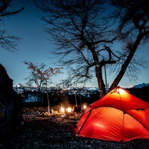 忘れられないソロキャンプの想い出【大津谷公園キャンプ場】