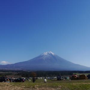 11月ベストシーズンは最高の富士山②【ふもとっぱらキャンプ場】