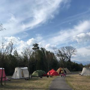 恒例芋煮キャンプを無料キャンプ地で【湖岸緑地中主吉川】