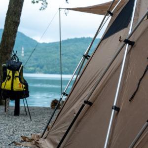 秋の四連休キャンプは青木湖へ