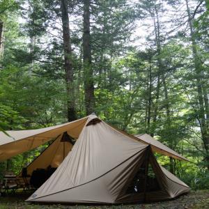 魅せられたあの森に会いに行く①【おんたけ森きちオートキャンプ場】