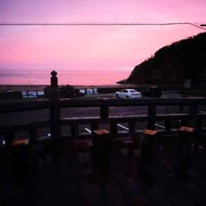 日没後の虹