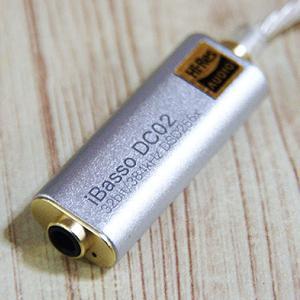アイバッソ・オーディオ DC02 音が格段に良くなりました! iBasso Audio