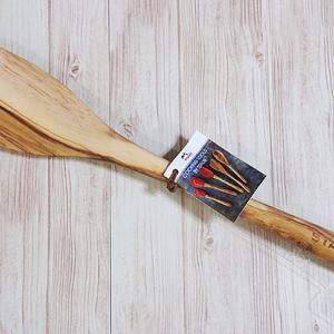 ストウブ Staub 木製スパチュラ オリーブウッドの質感が素晴らしいです!