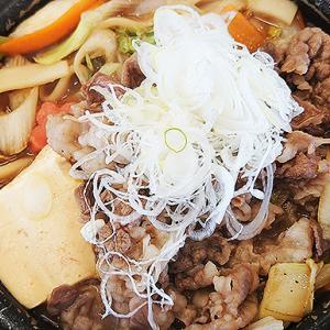 吉野家 黒毛和牛すき鍋膳 ボリュームたっぷりで美味しかったです!