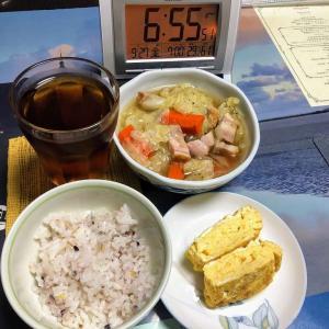190927晩酌の肴は手羽元大根煮と小松菜ニョクマム炒め