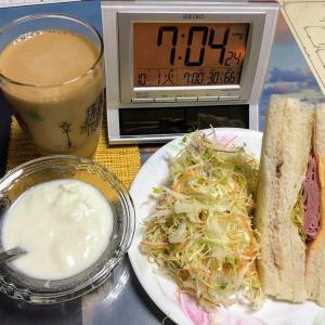 191001鰻丼弁当に晩酌は豚の冷シャブ