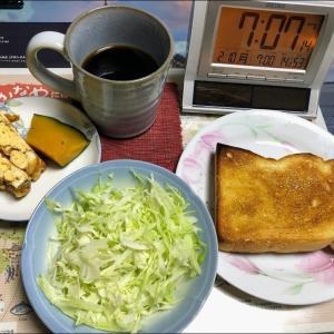 200210ノンアルで炊込み御飯と野菜炒め