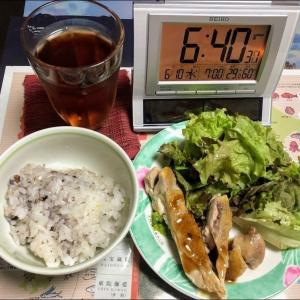 200610餃子とホウレン草バターソテー