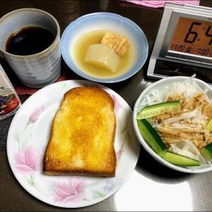 201120焼豚肉とホウレン草ソテー