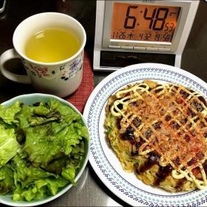 201126ミンチ肉とキャベツ炒め