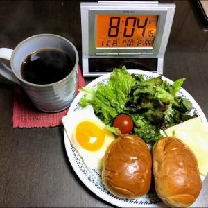 210110実家昼飯で晩は鯖のトマトマカロニ