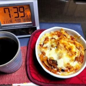 210111鮭大根の味噌風味煮とランチ焼肉