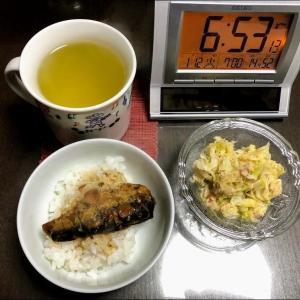 210112ノンアル日で焼飯と鶏の唐揚げ