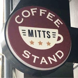 店長、お疲れさまでした!「MITTS COFFEE STAND」