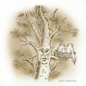 勝手に挿絵⑨『大きなかしの木』