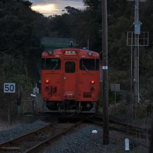 キハ47形普通列車 キハ47-141+キハ47-3013<五十猛駅>