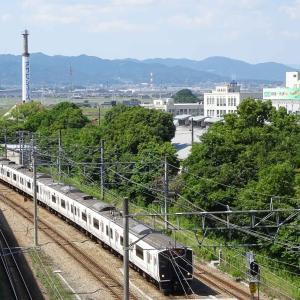 817系 普通列車 V3005+V3010編成<久留米駅>