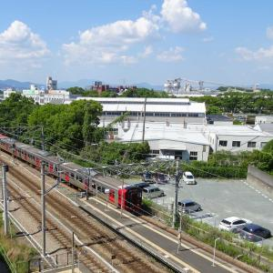 813系+811系快速列車 <久留米駅>